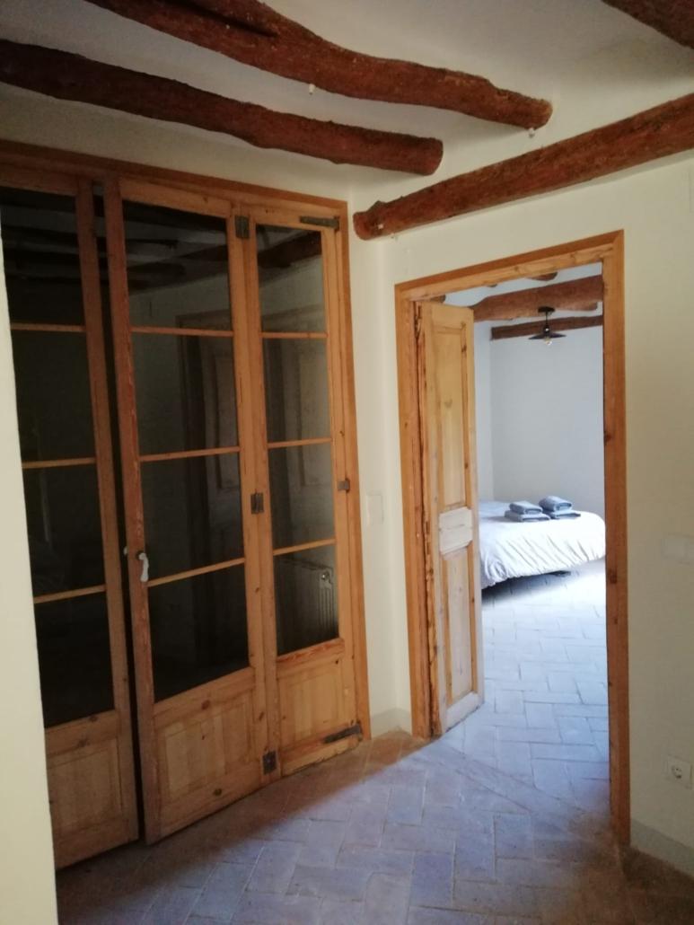Dormitori rural de fusta