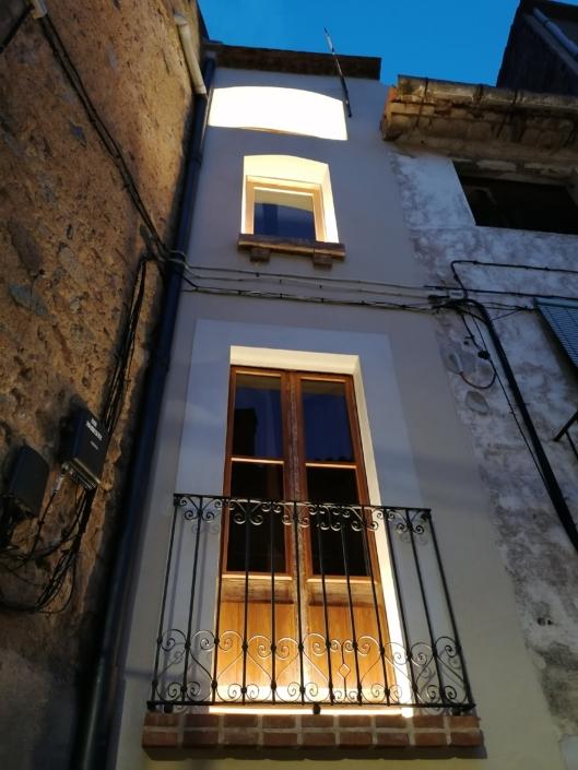 iluminacion fachada diseño