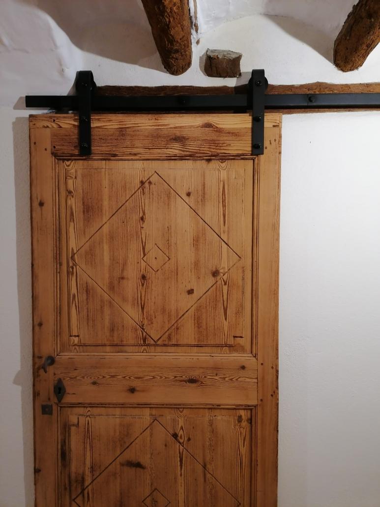 porta corredera de fusta