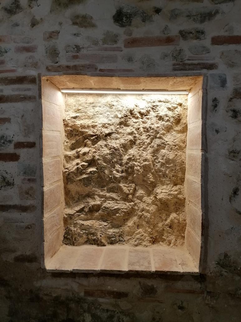 ventana de pedra natural