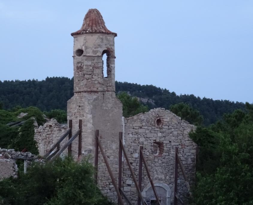 Musssra esglèsia ruinas cuartomilenio