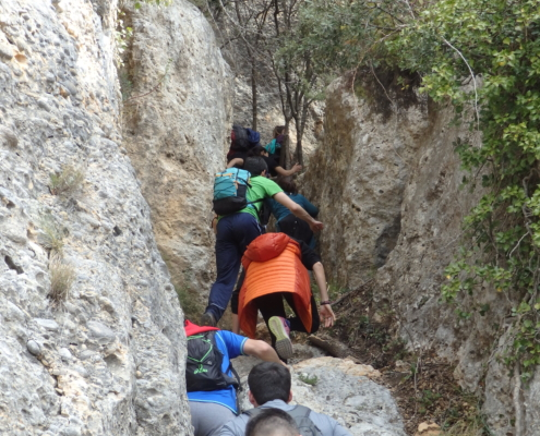 climbing grau barrots Montsant
